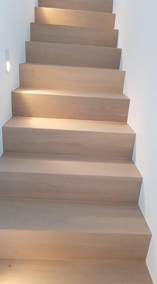 Escalier en parquet